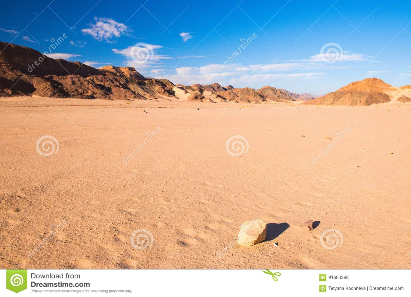 Sinai τοπίο ερήμων