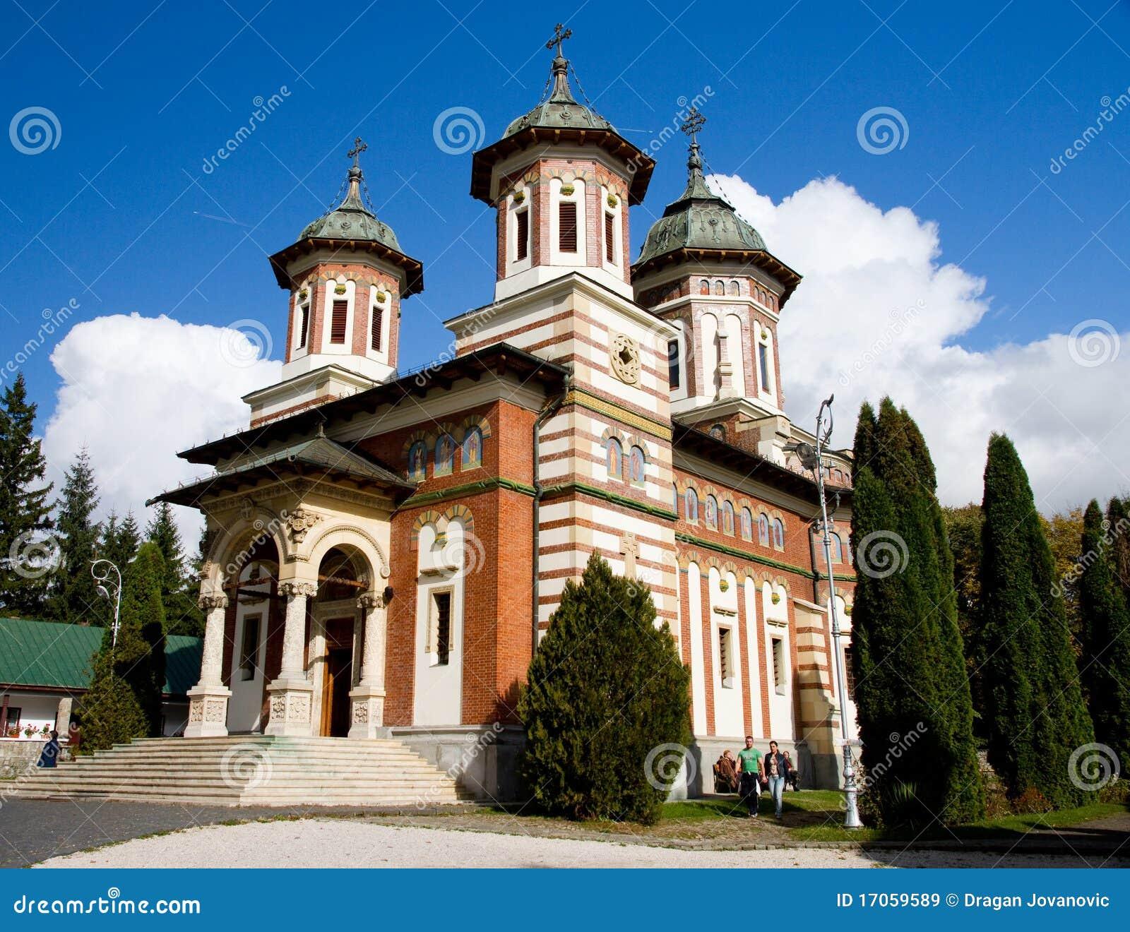 Sinaia της Ρουμανίας μοναστηρ&io