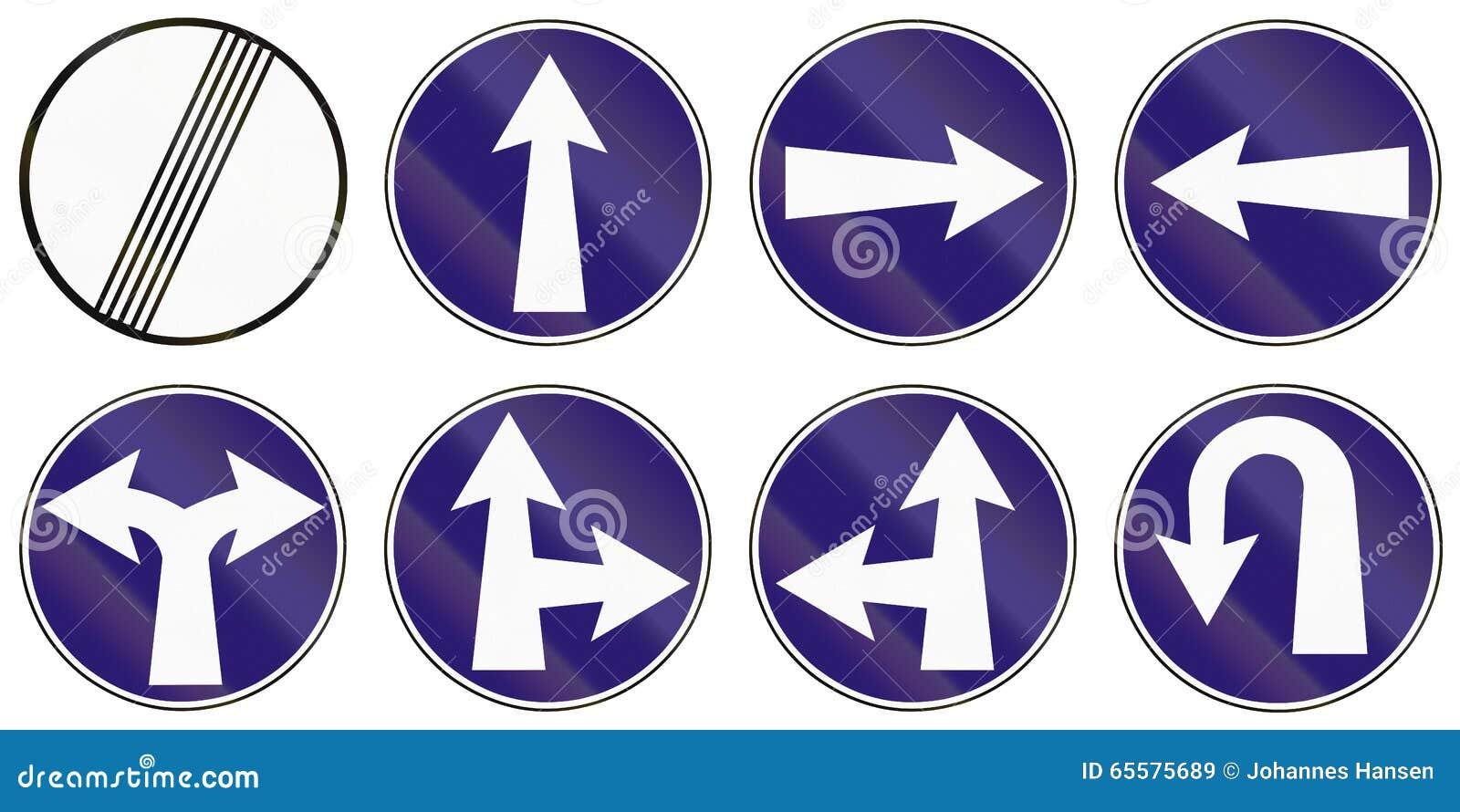 Sinais de estrada usados em Eslováquia