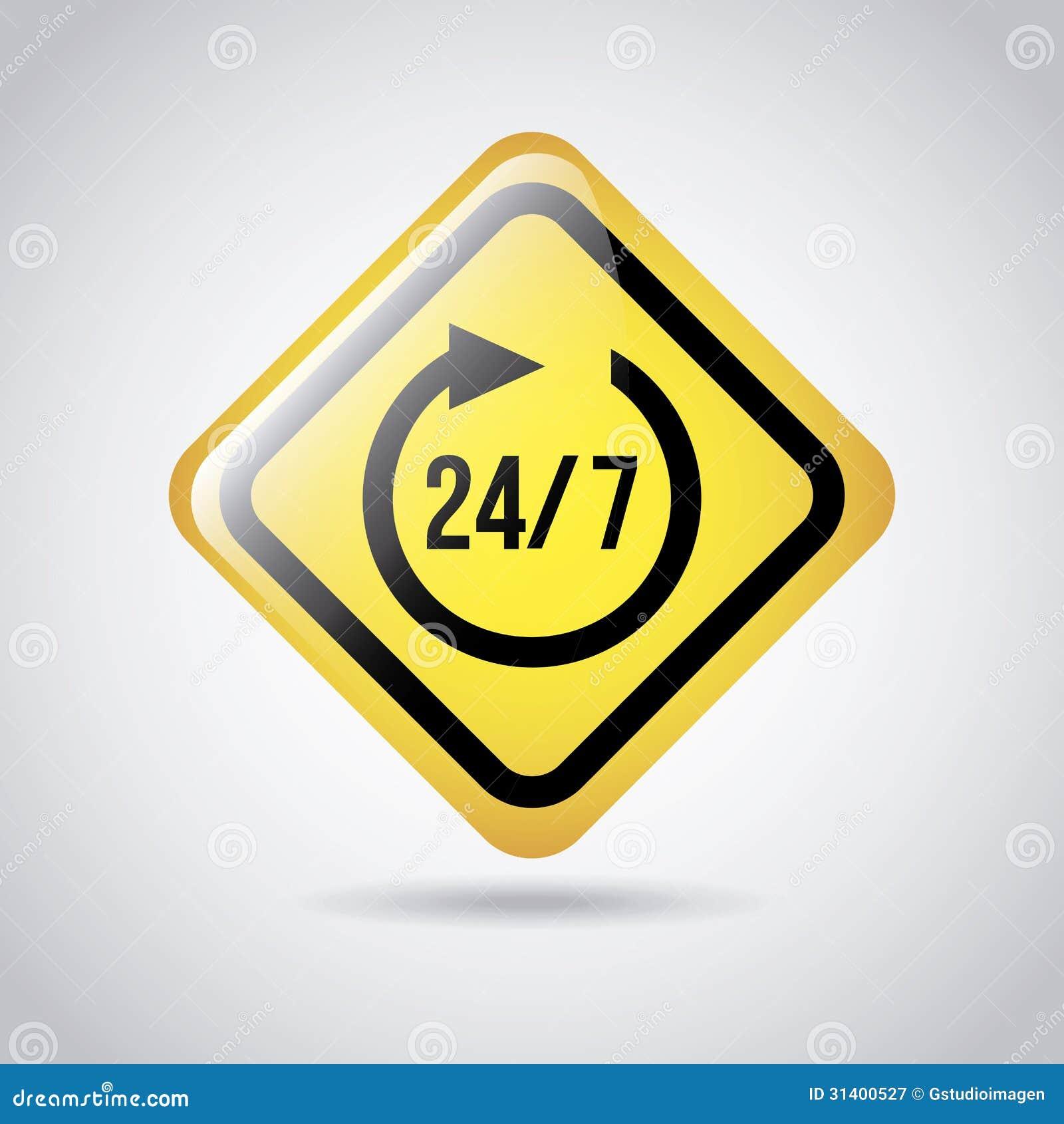 24-7 sinal