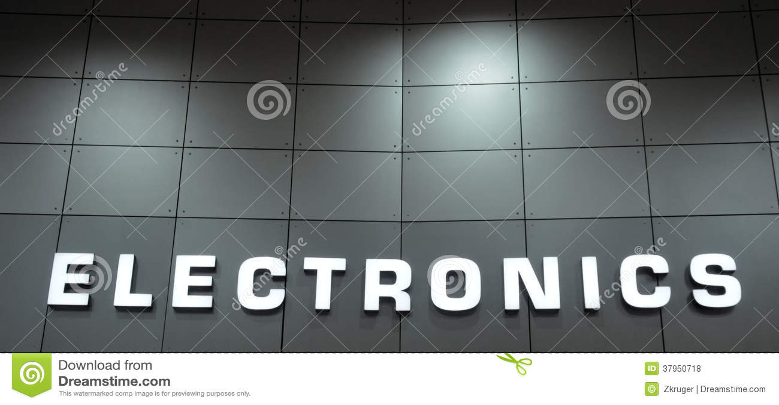 Sinal da eletrônica