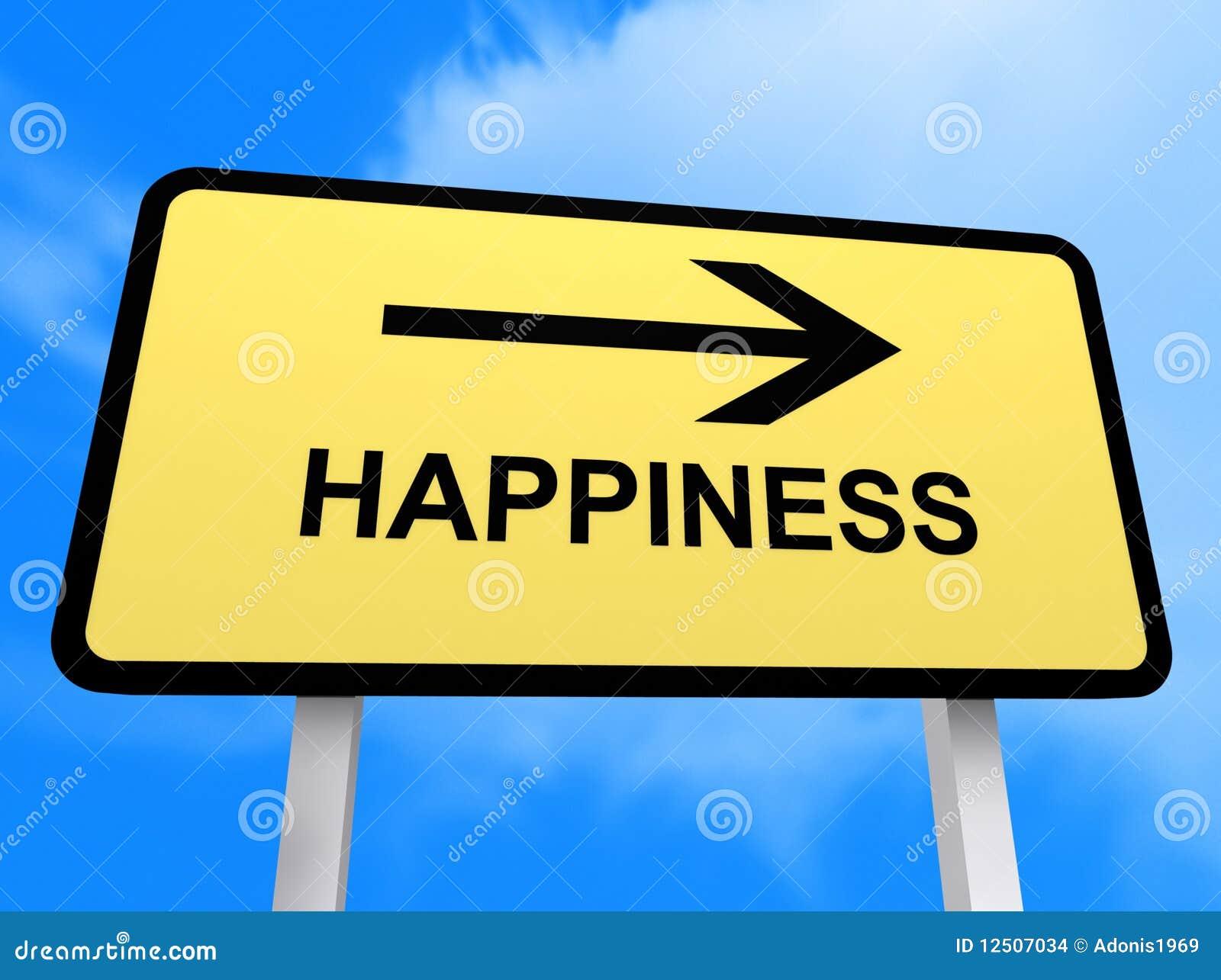 Sinal da felicidade