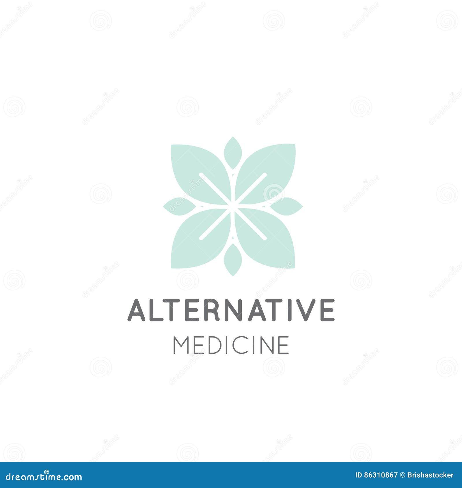 Sinal da medicina alternativa IV terapia da vitamina, antienvelhecimento, bem-estar, Ayurveda, medicina chinesa Centro holístico