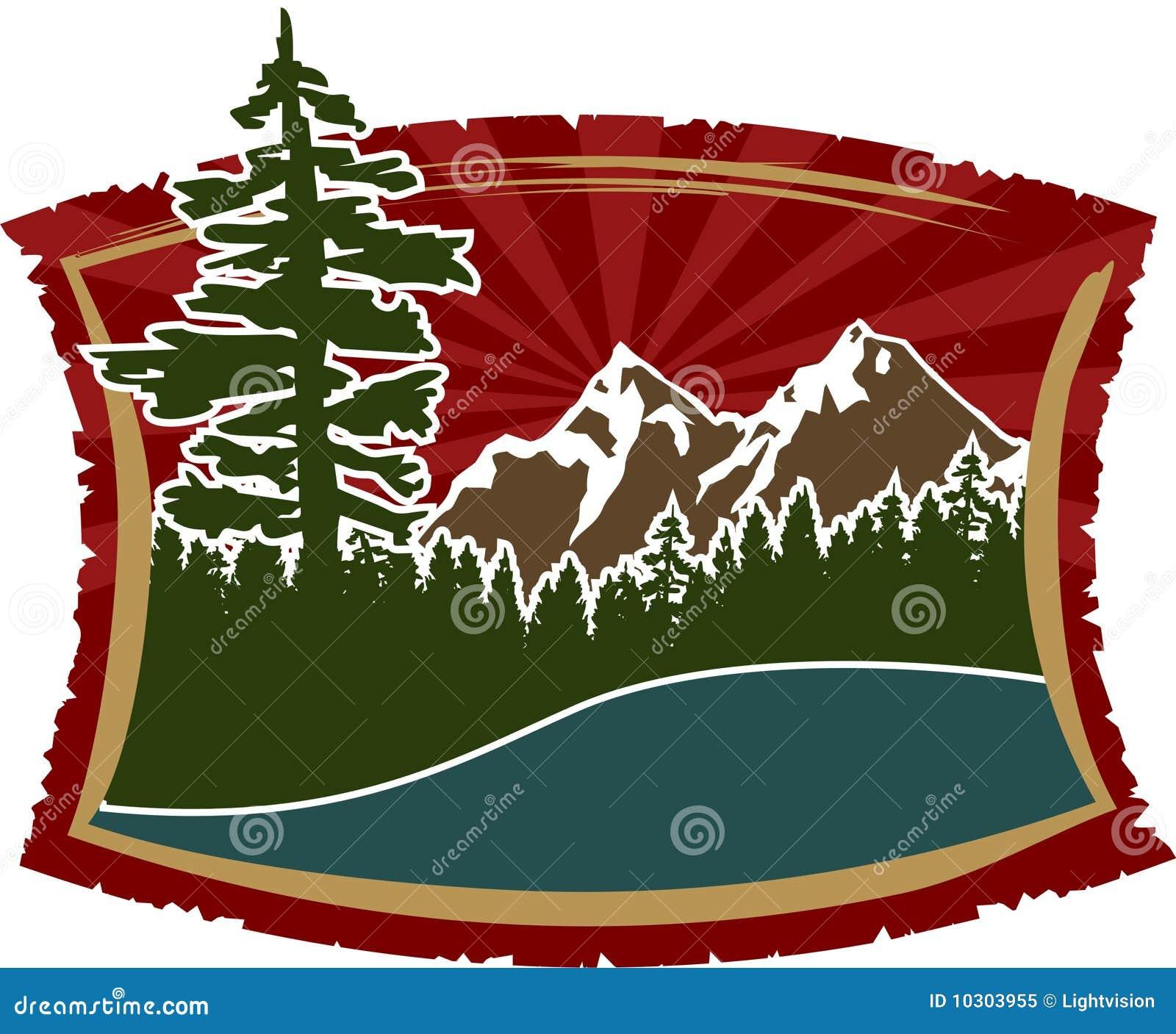 Sinal da montanha/sinal