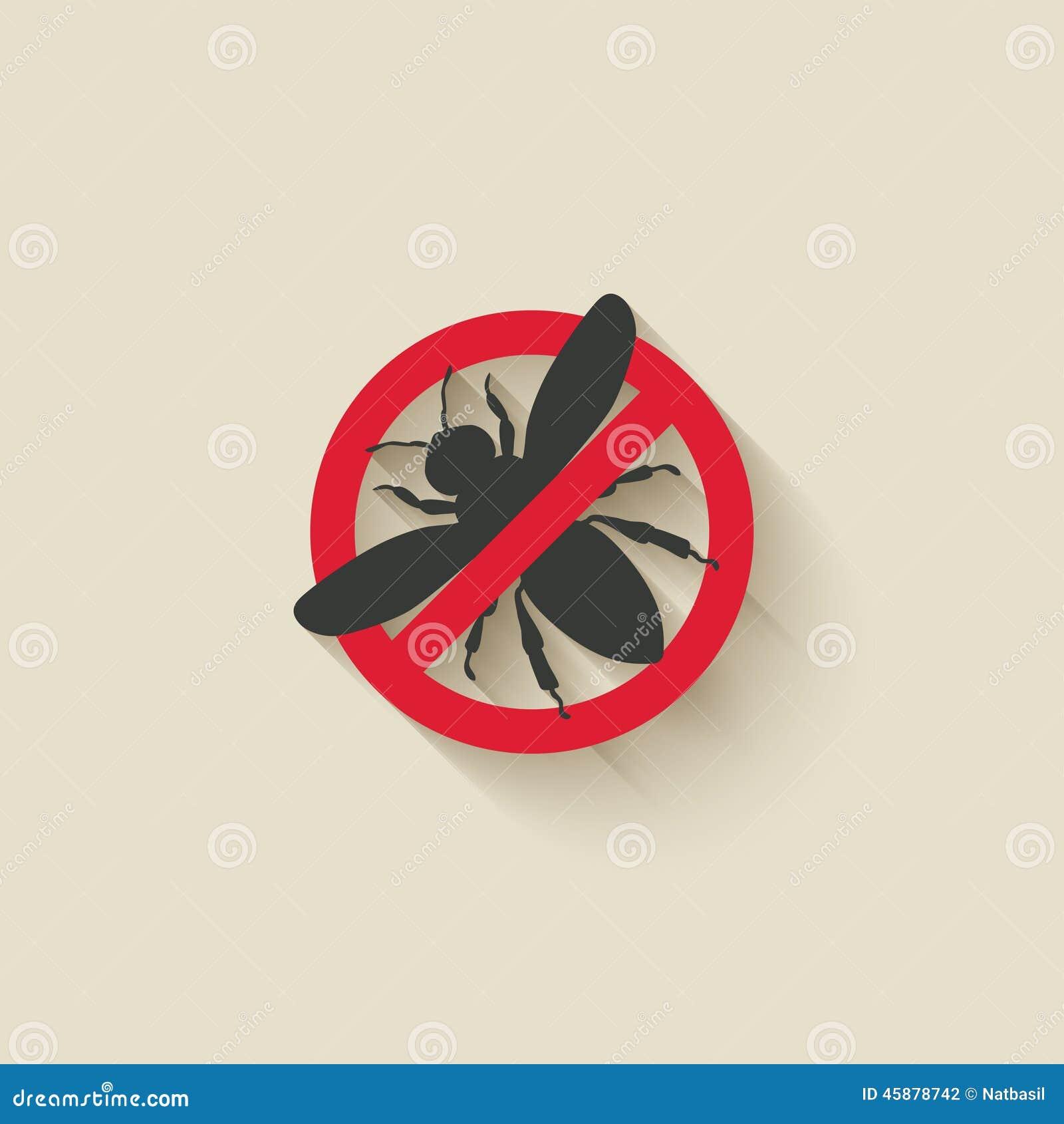 Sinal de aviso da vespa