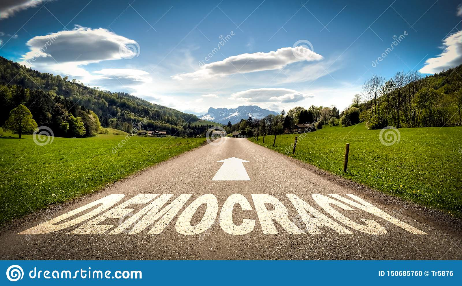 Sinal de rua ? democracia
