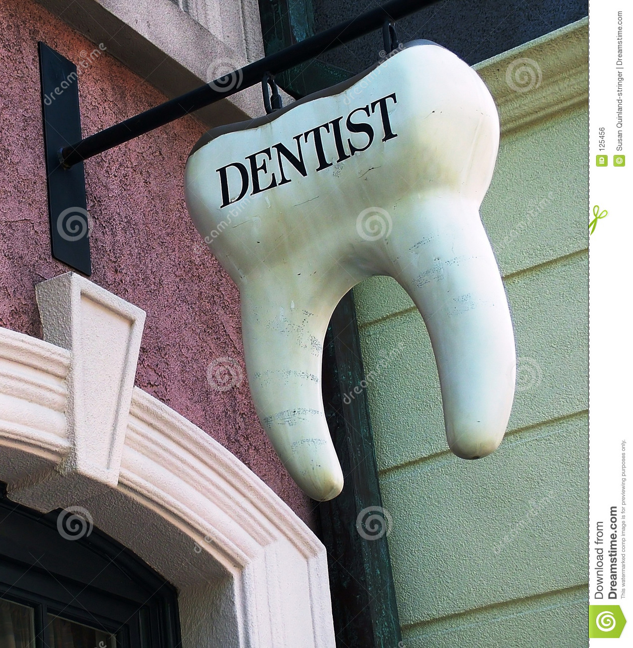 Sinal do dente do dentista