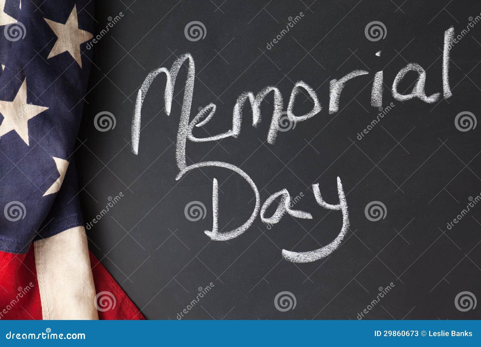Sinal do Memorial Day
