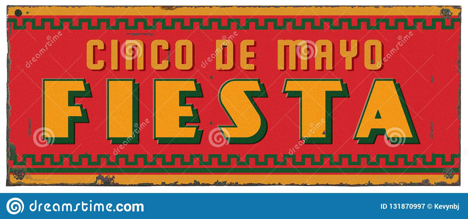 Sinal do metal do Grunge de Cinco De Mayo Party Fiesta Art