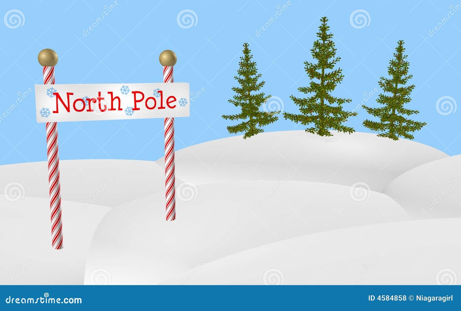 Sinal do Pólo Norte