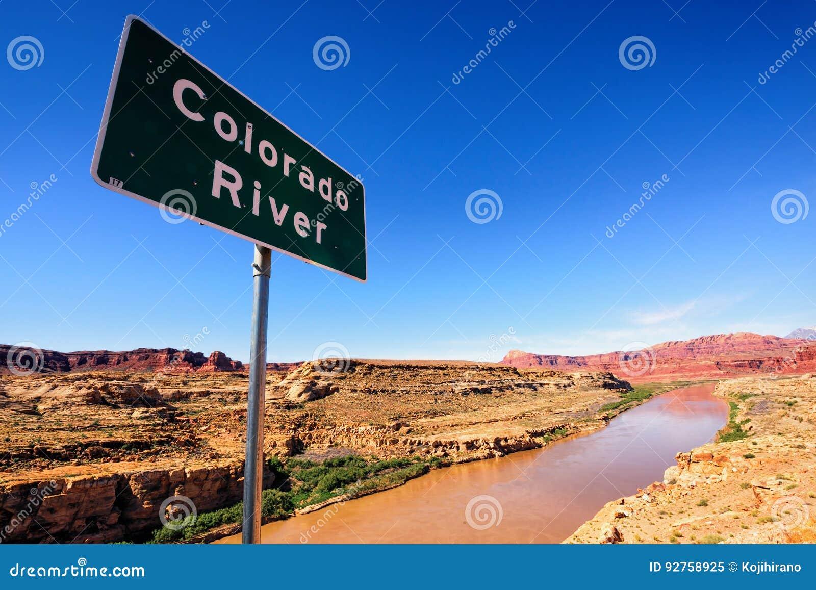 Sinal do Rio Colorado