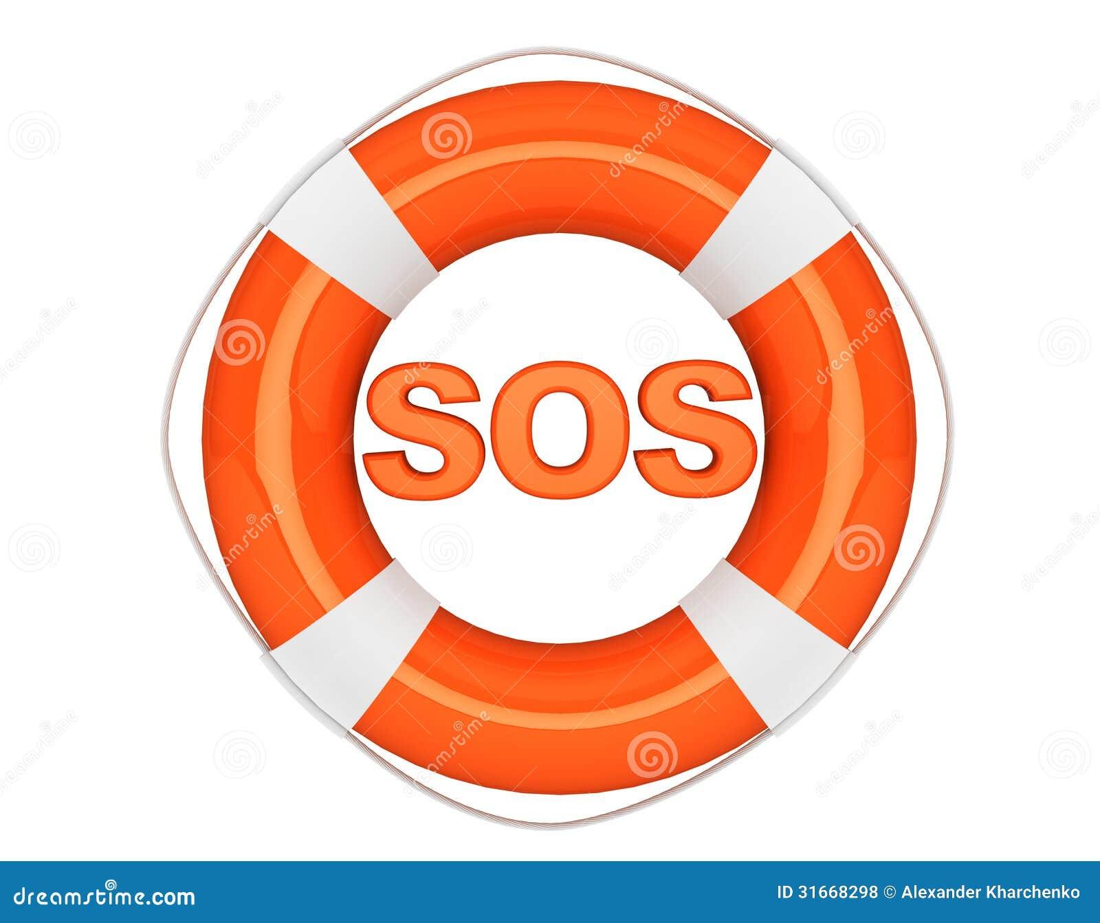 Sinal Do SOS Com Boia Salva vidas Fotos de Stock Royalty Free Imagem  #C94002 1300 1108
