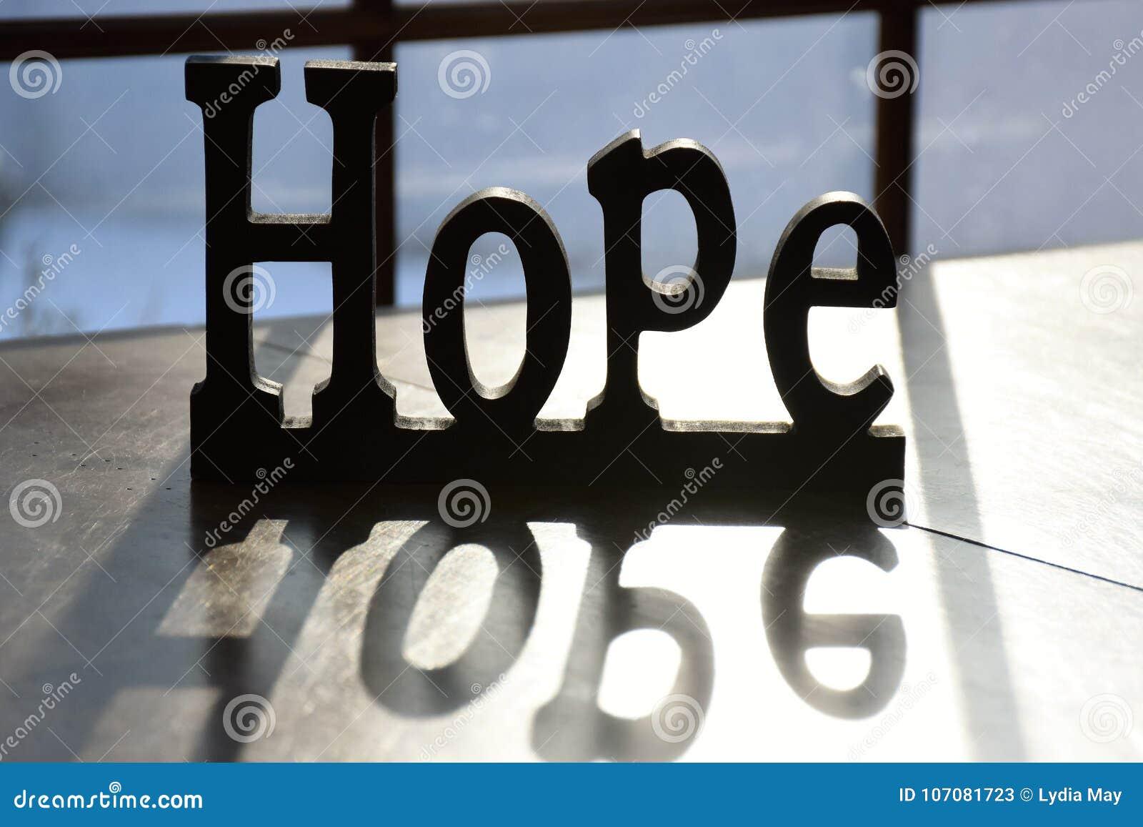 Sinal e reflexão da esperança