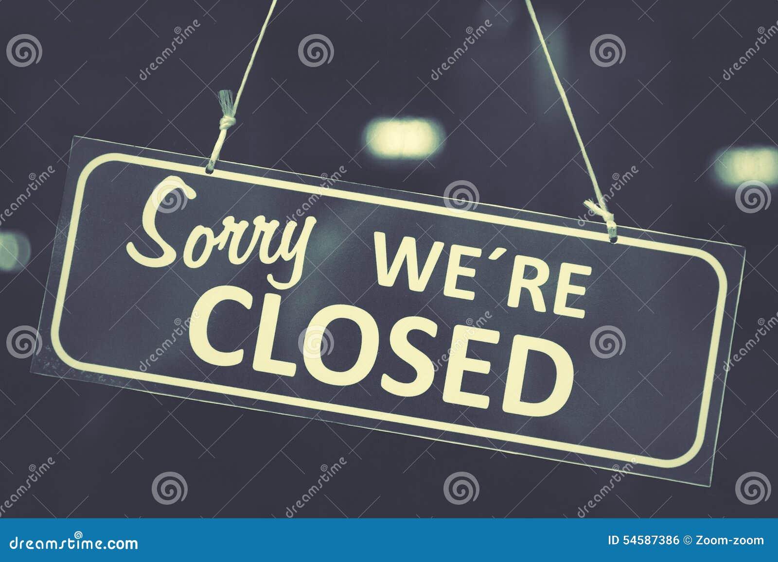 Sinal fechado