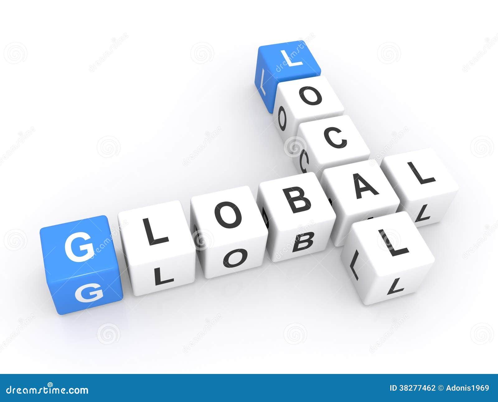Sinal global local
