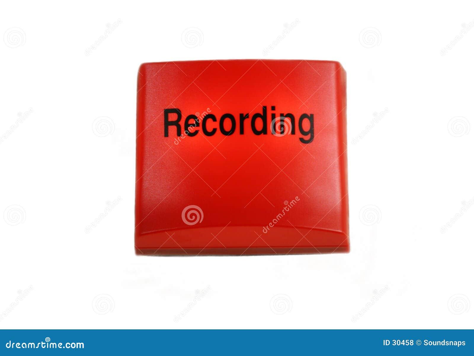 Sinal isolado da gravação do estúdio