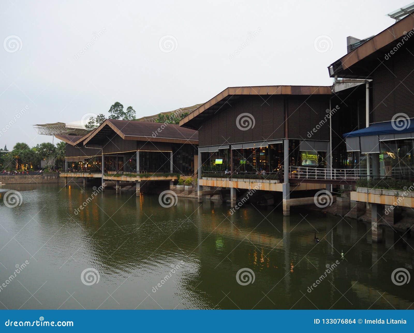 Sinarmas Land Tangerang editorial stock image  Image of
