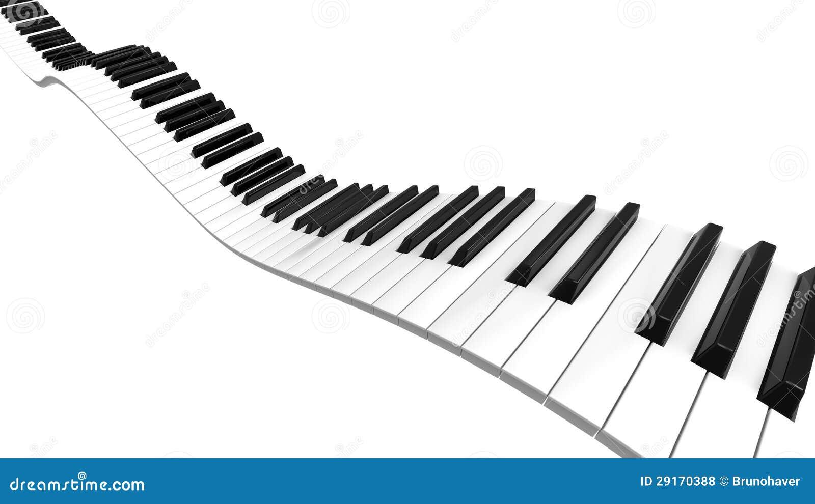 sine curve piano stock illustration image of digital. Black Bedroom Furniture Sets. Home Design Ideas