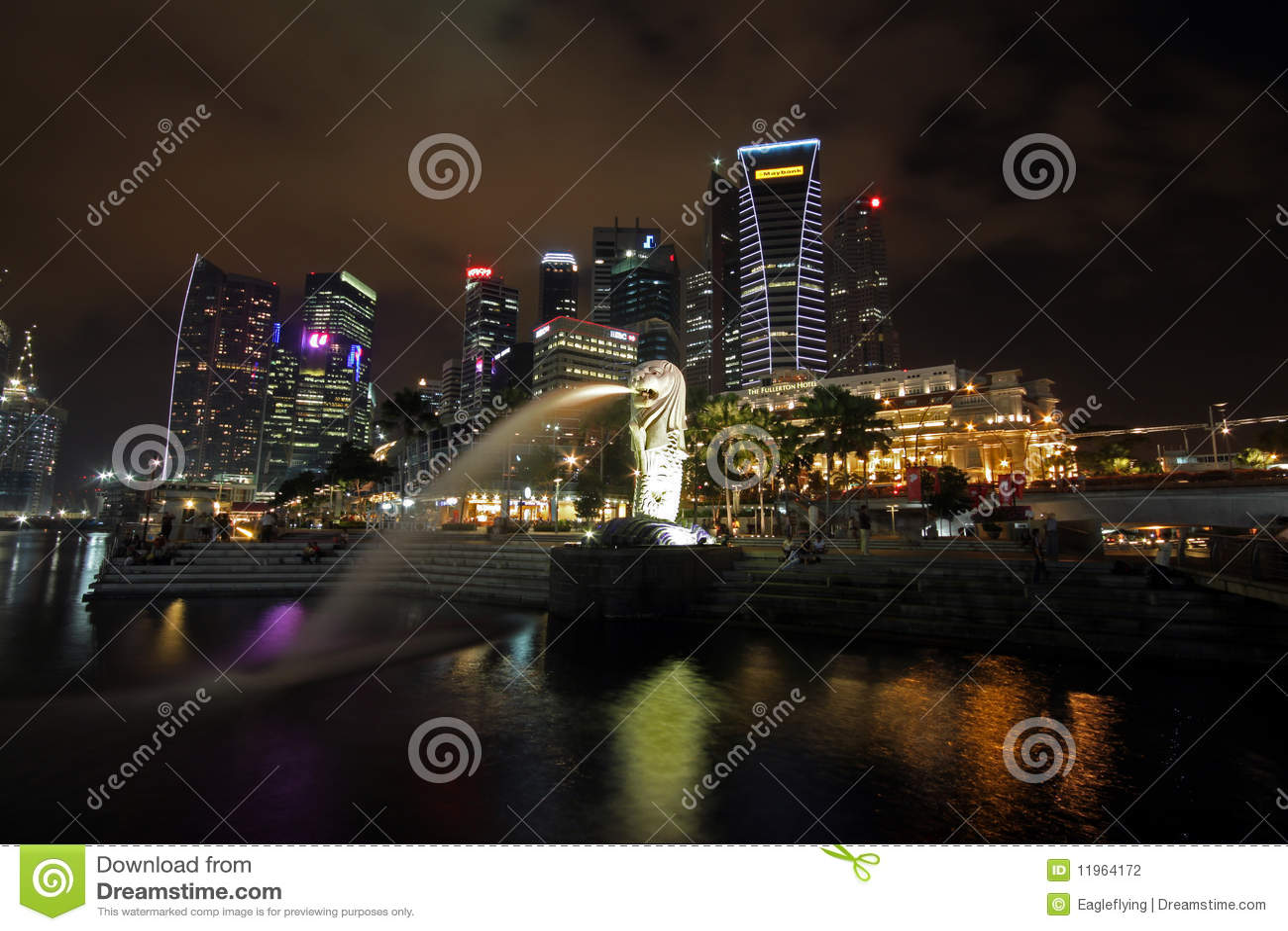 Singapore alla notte