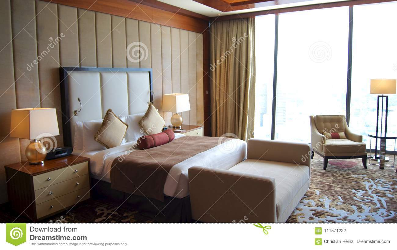 Singapore Apr 2nd 2015 Beautiful Master Bedroom With View In A