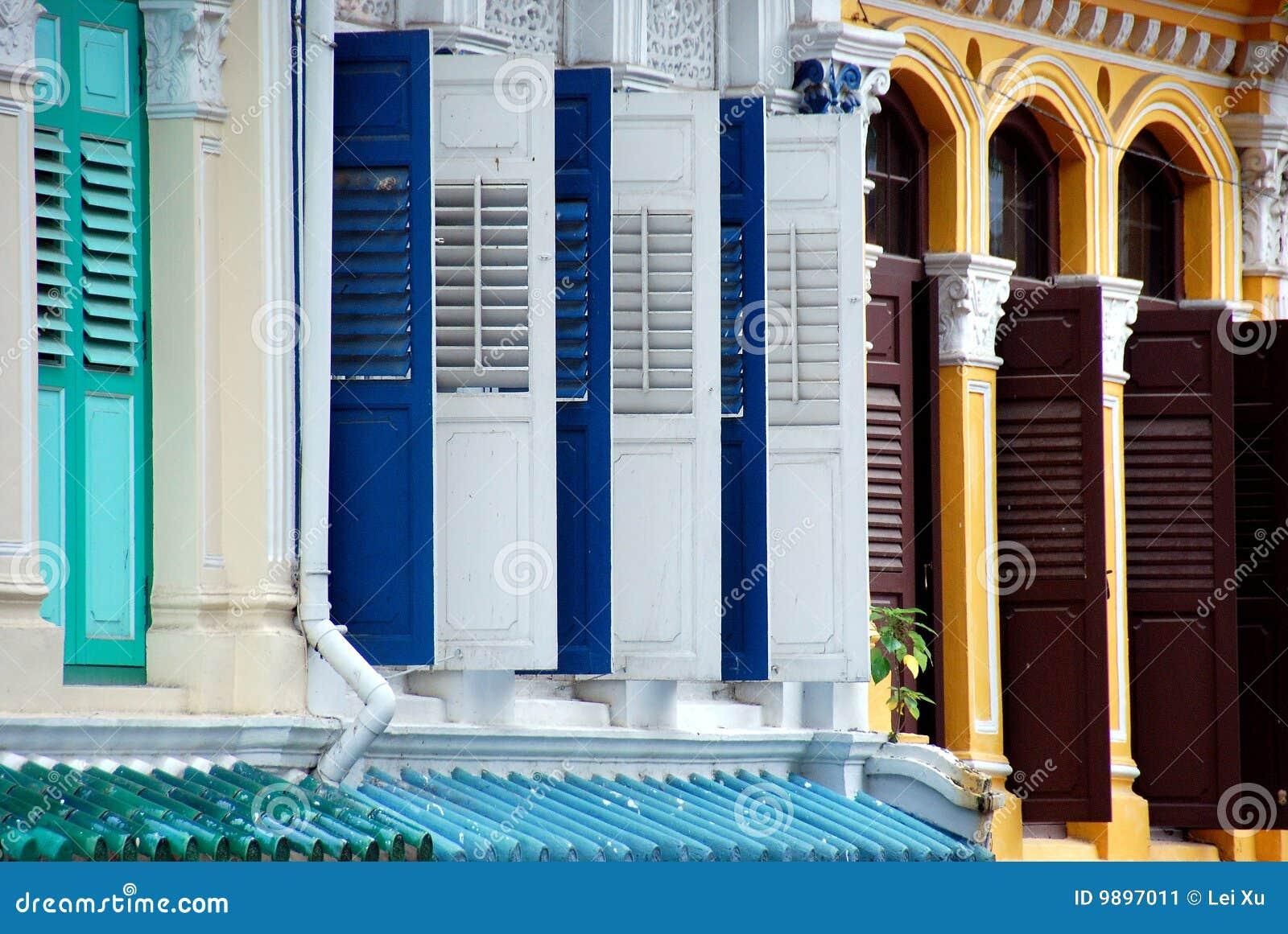 Singapore: Casas do monte da esmeralda