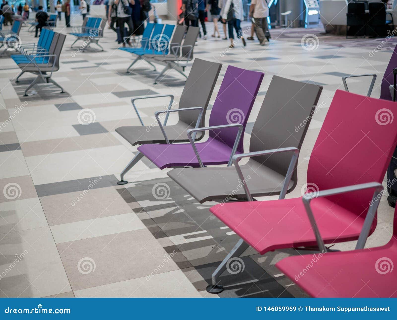 Singapore, Changi Airport - NOV 22, 2018: The Waiting Hall