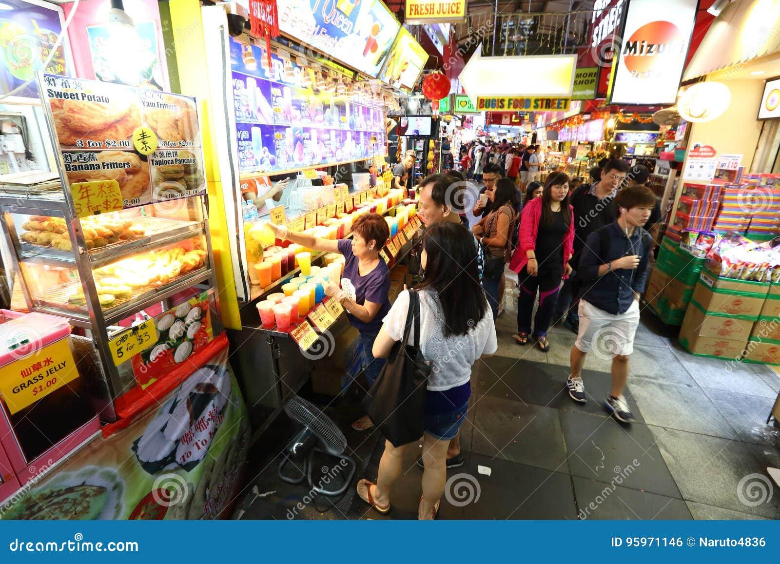 Singapore : Chinatown food street