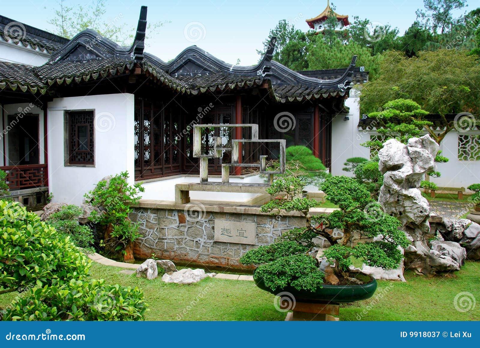 Singapore de tuin van de bonsai bij de chinese tuin royalty vrije stock fotografie beeld 9918037 - Tuin van de tuin ...