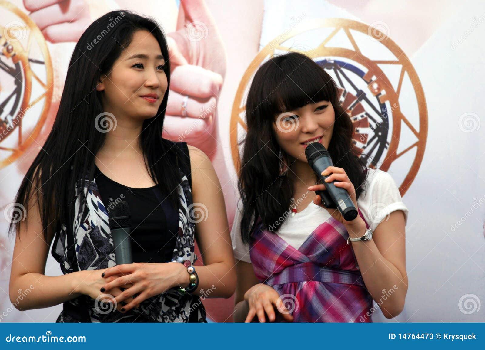 Singapore för 7 flickor under