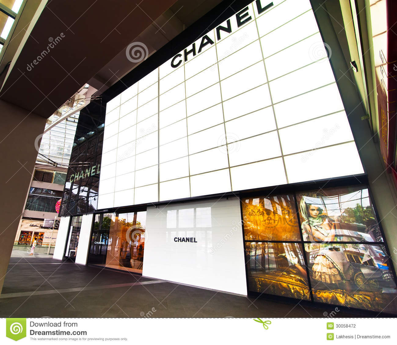 Singapore chanel boutique at marina bay sands resort for Boutique center