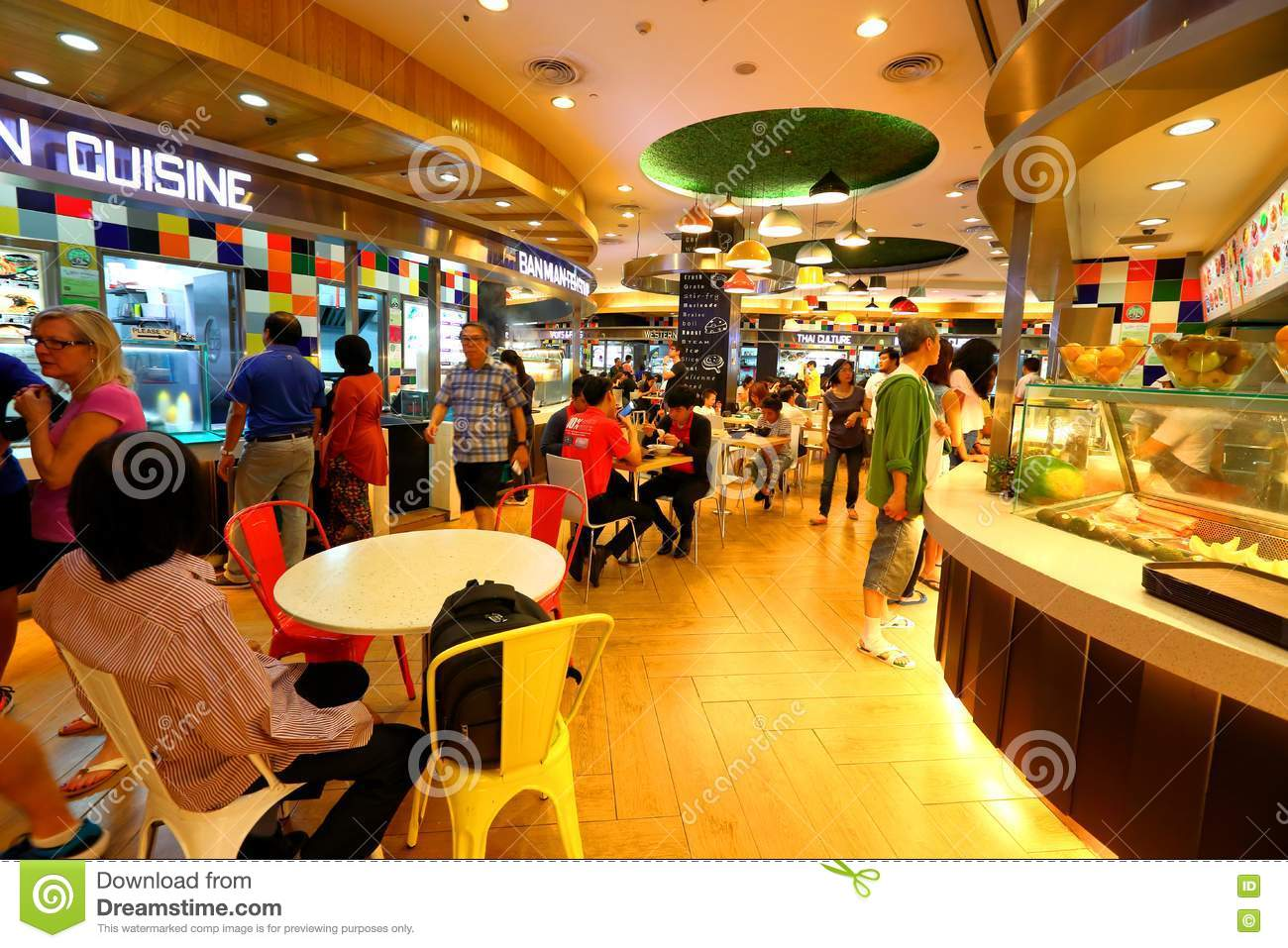 Food Court Pacific City