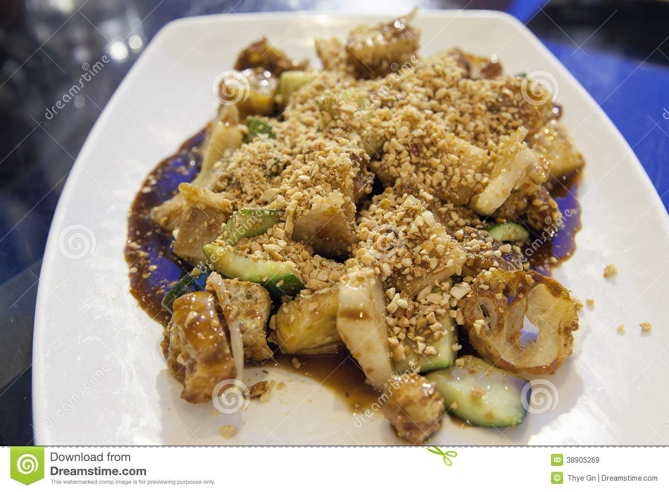 Singapore Fruit Rojak Closeup Stock Photo - Image: 38905269