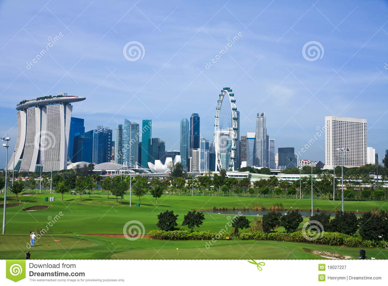 Download Golf Course Green Lawn In Singapore Stock Image - Image of golf, course: 19027227