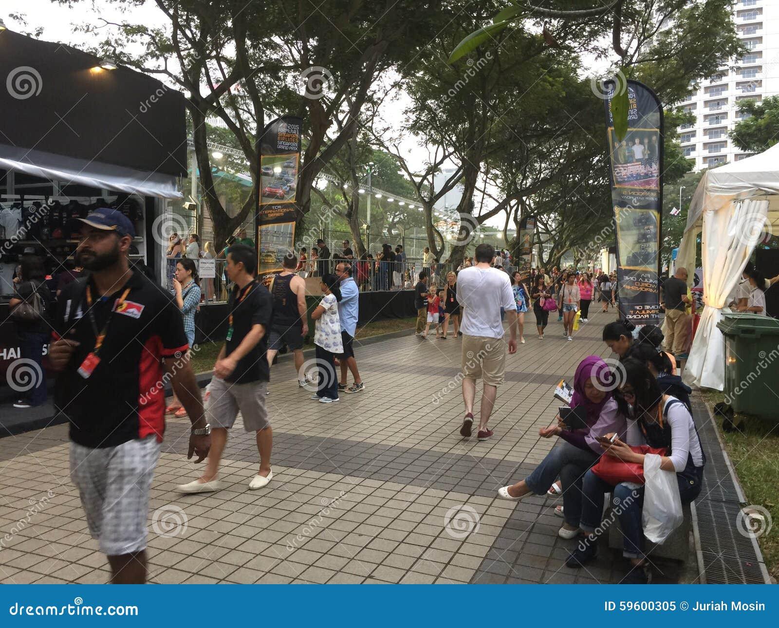 Singapore grand prixformel 2015 1, Marina Bay Singapore