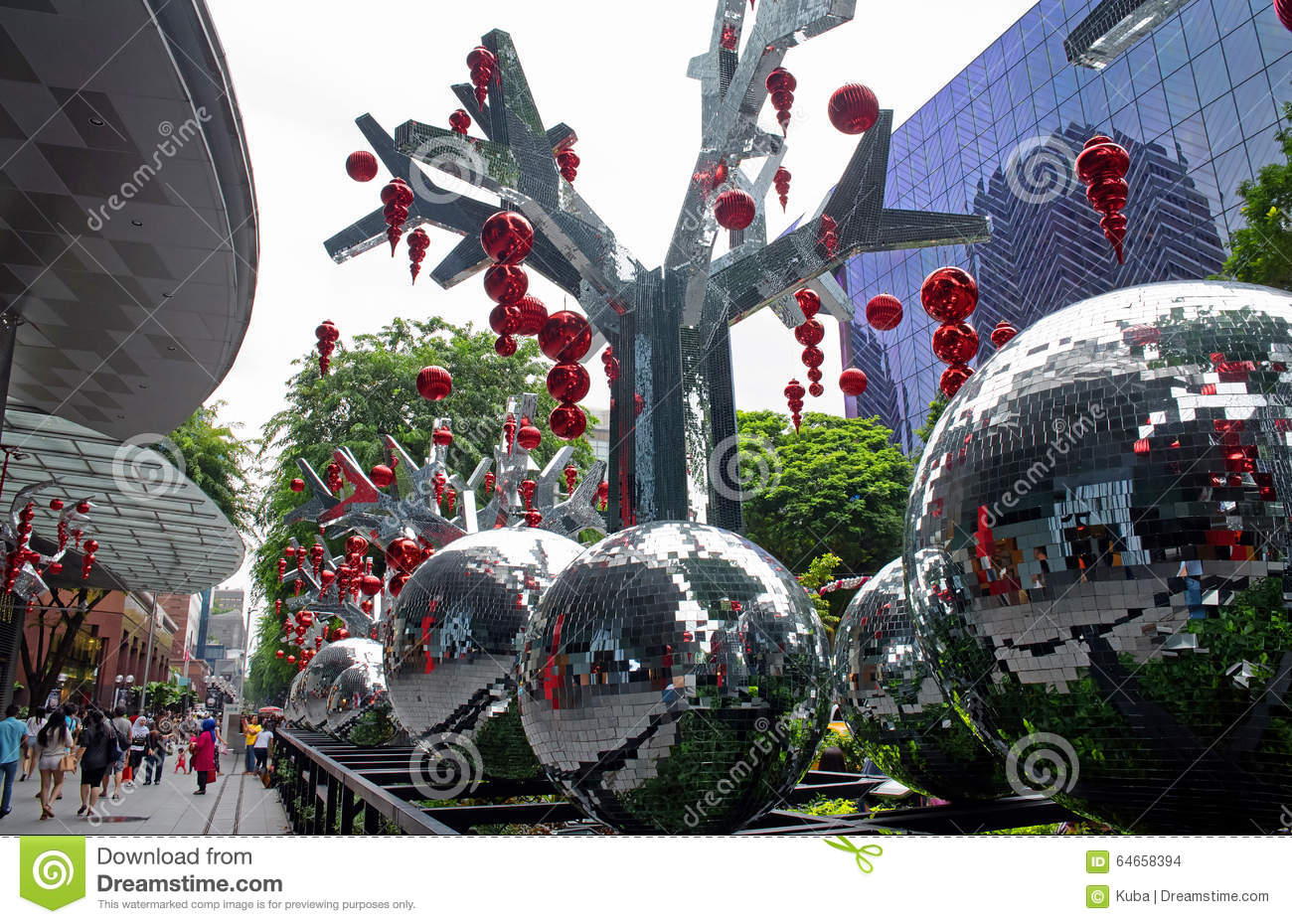 Singapore january 2016 christmas decoration on orchard for 26 january decoration