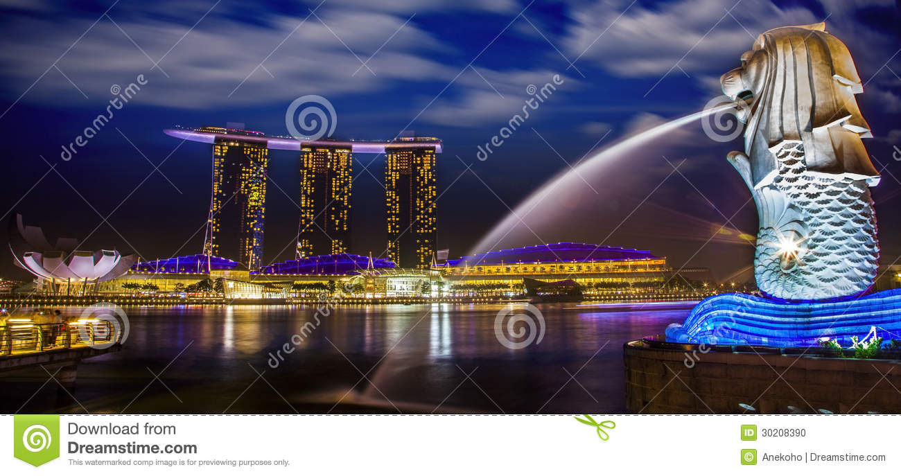 Marina bay editorial image image 30208390 for Most luxurious hotel in singapore