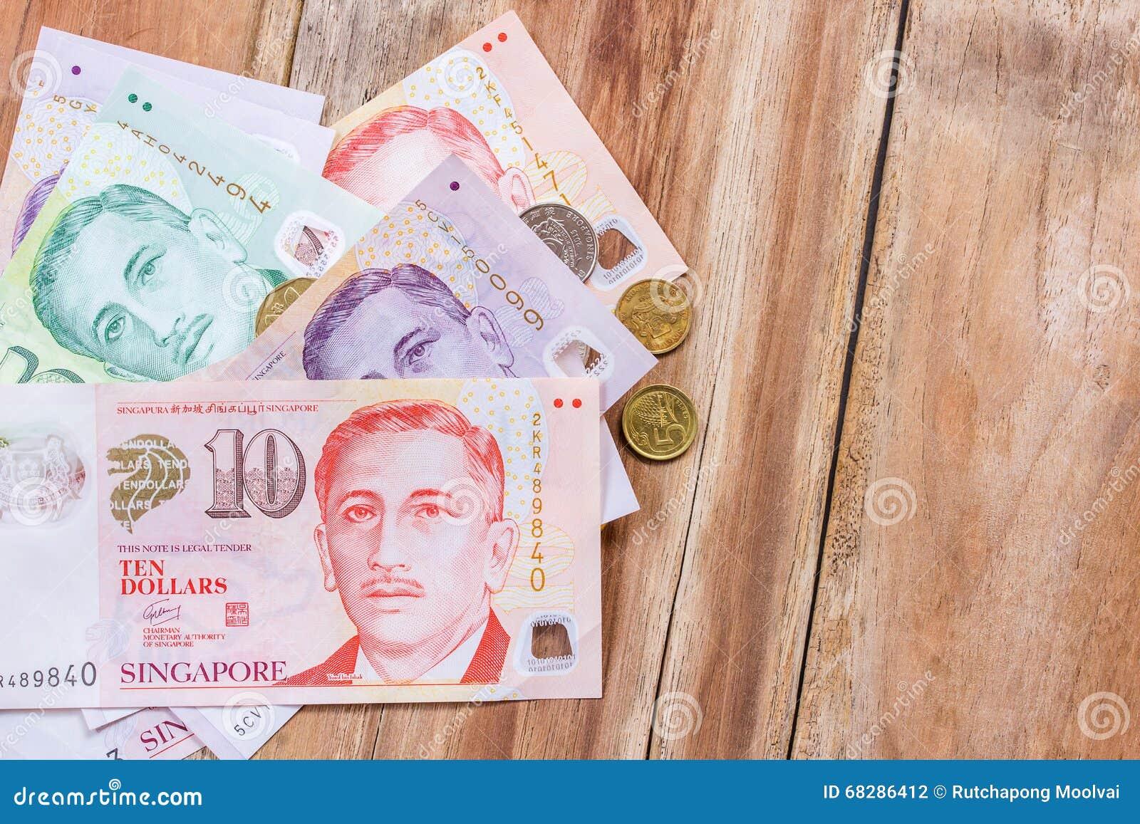 Singapore money on wooden table background stock photo image of royalty free stock photo biocorpaavc