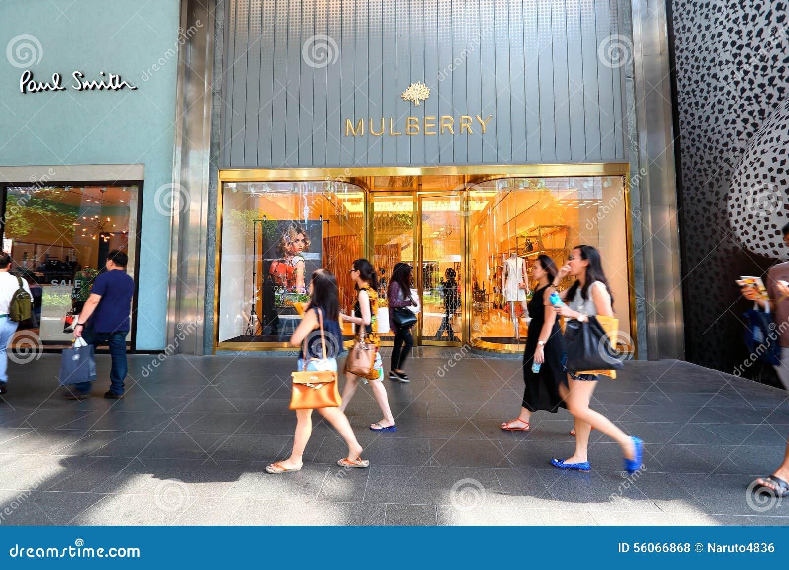 Singapore: Mulberry retail store