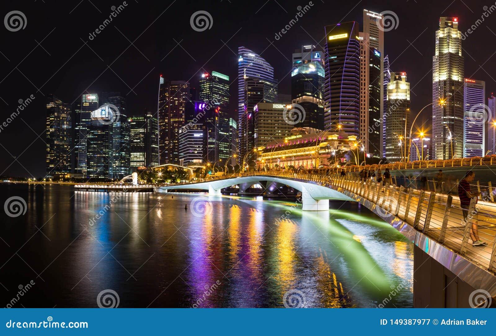 Singapore na noite