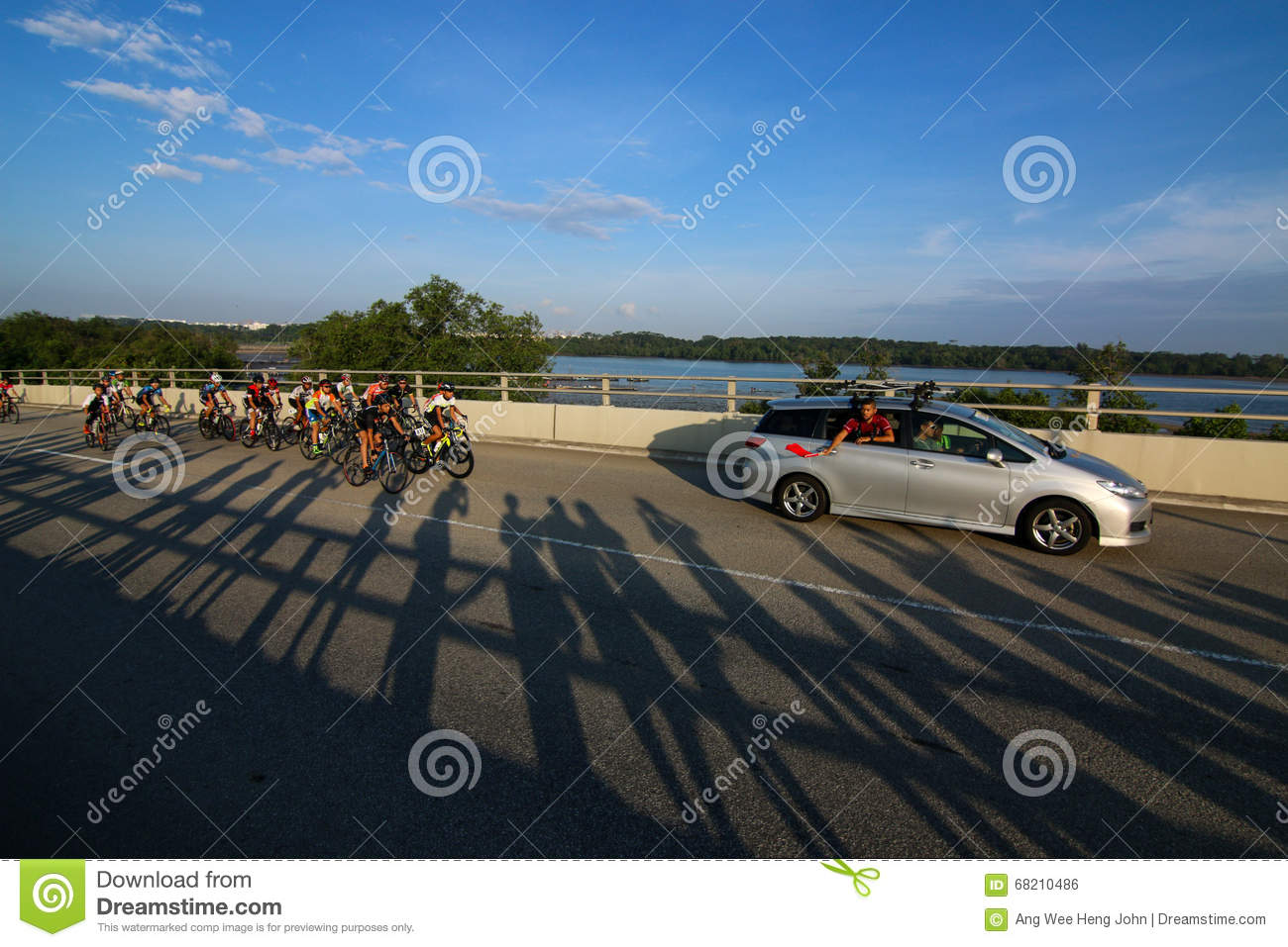 Singapore OCBC Cycle Road Race 2016 Editorial Photo ...
