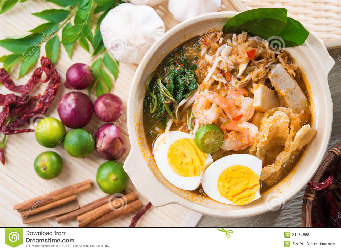 Singapore prawn noodles royalty free stock photos image for Asian cuisine singapore