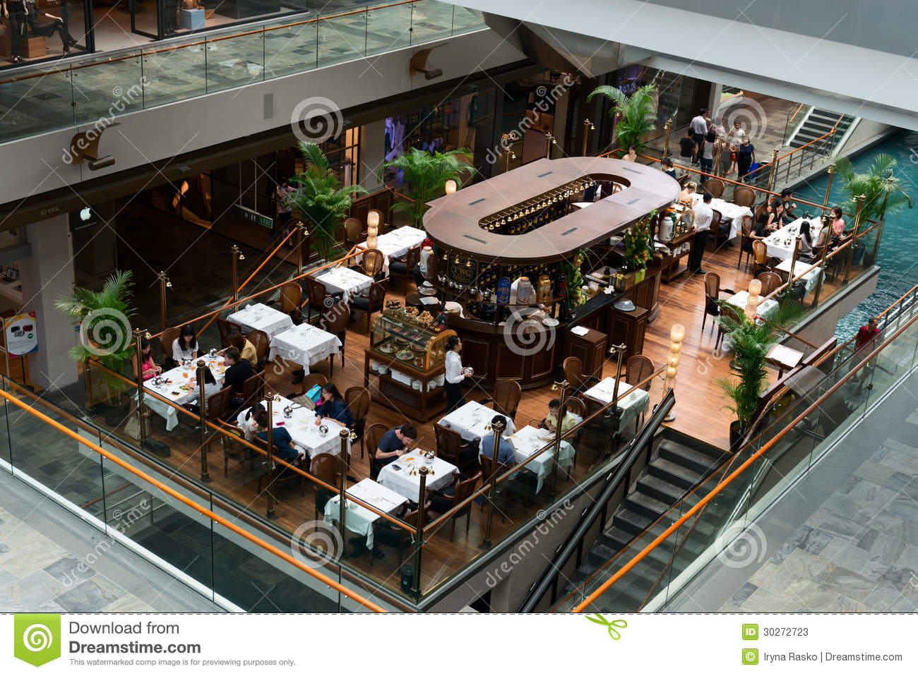Marina Bay Sands Food Court Review
