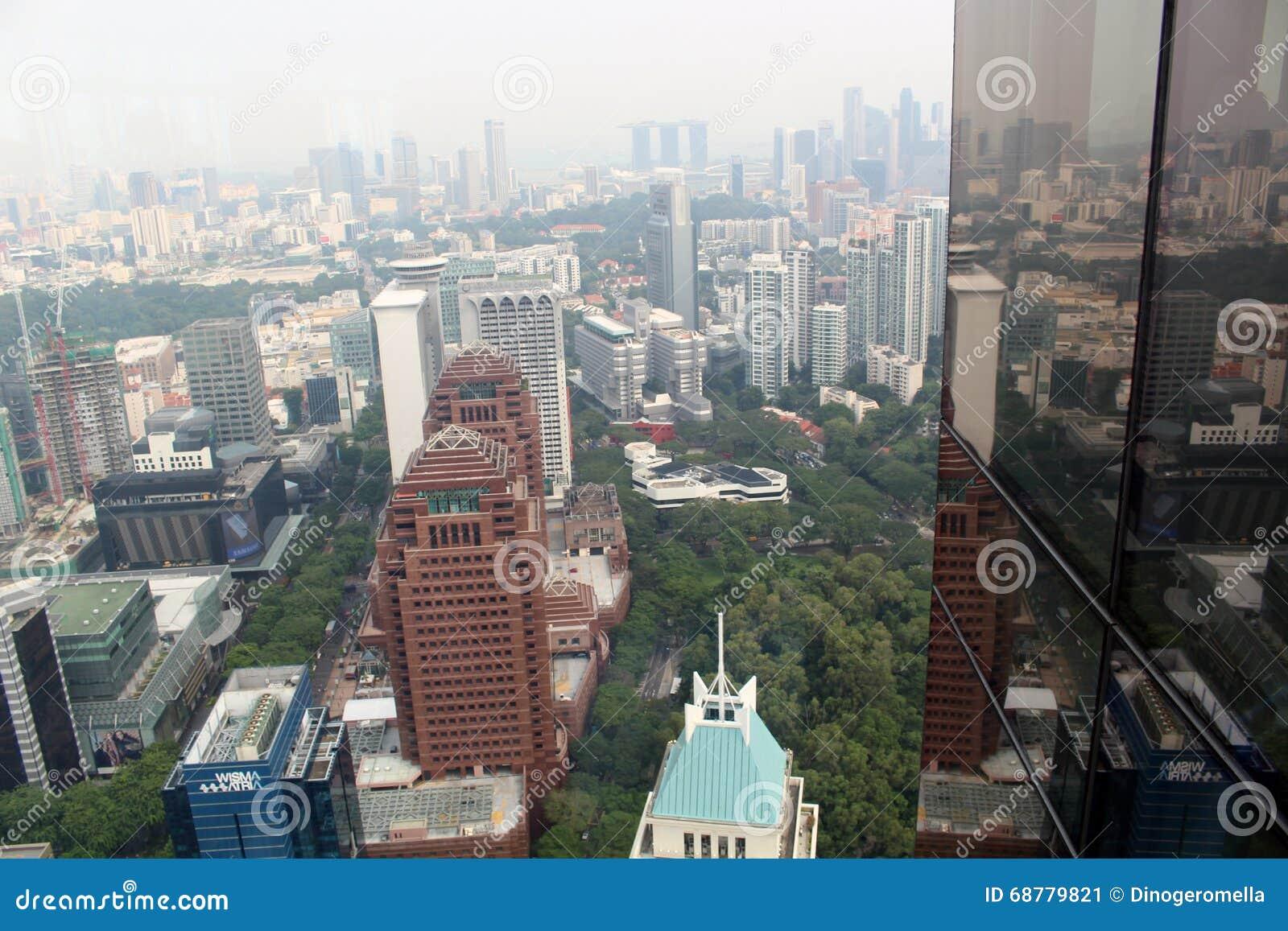 Singapore skyskrapor
