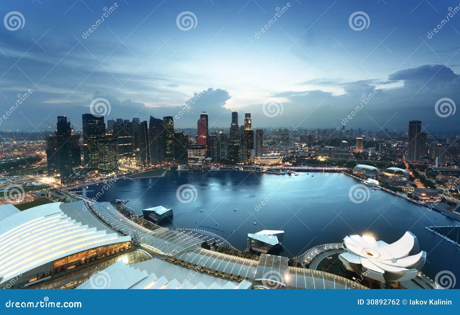 Singapore stad