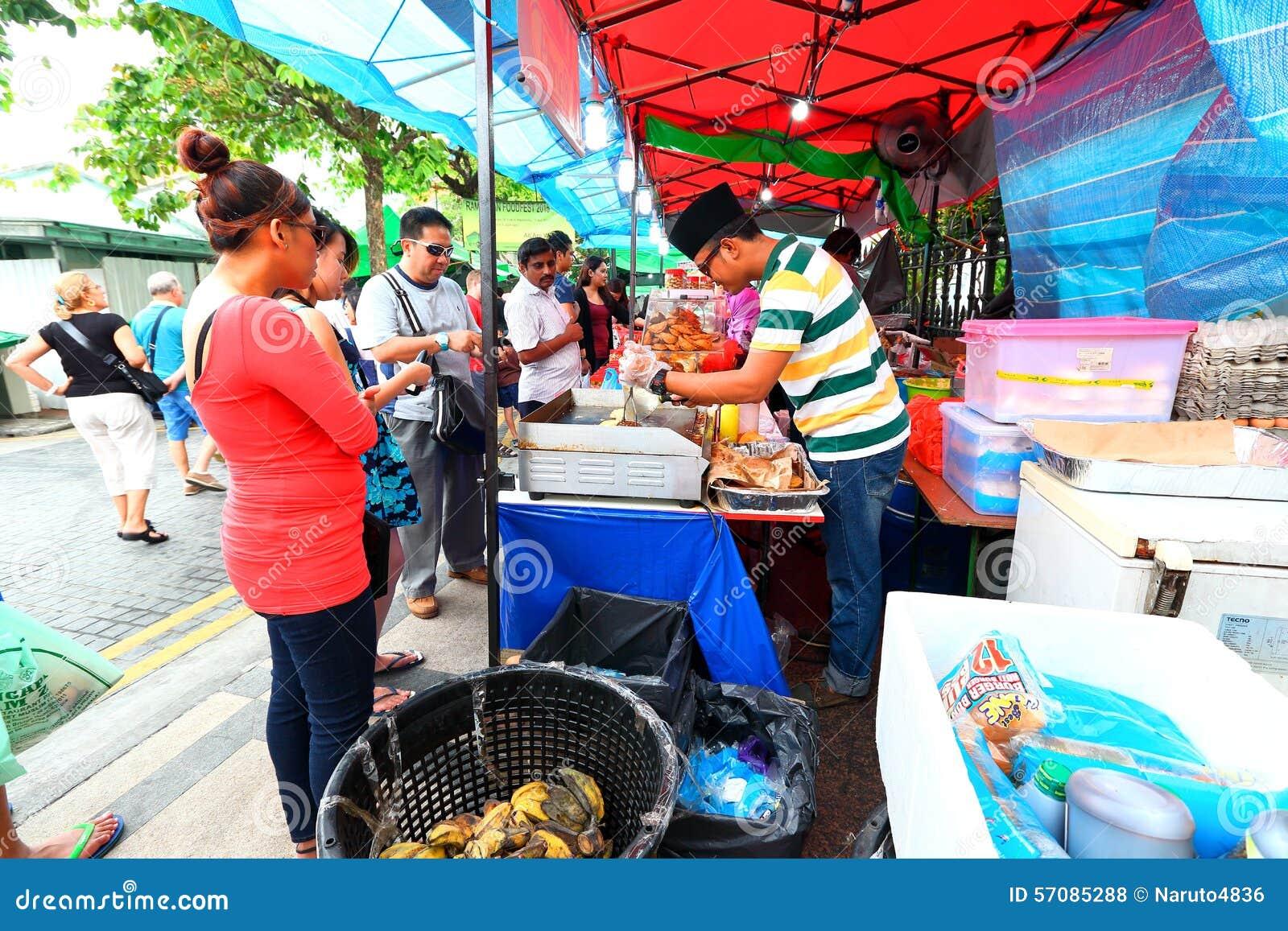 Singapore : Street food