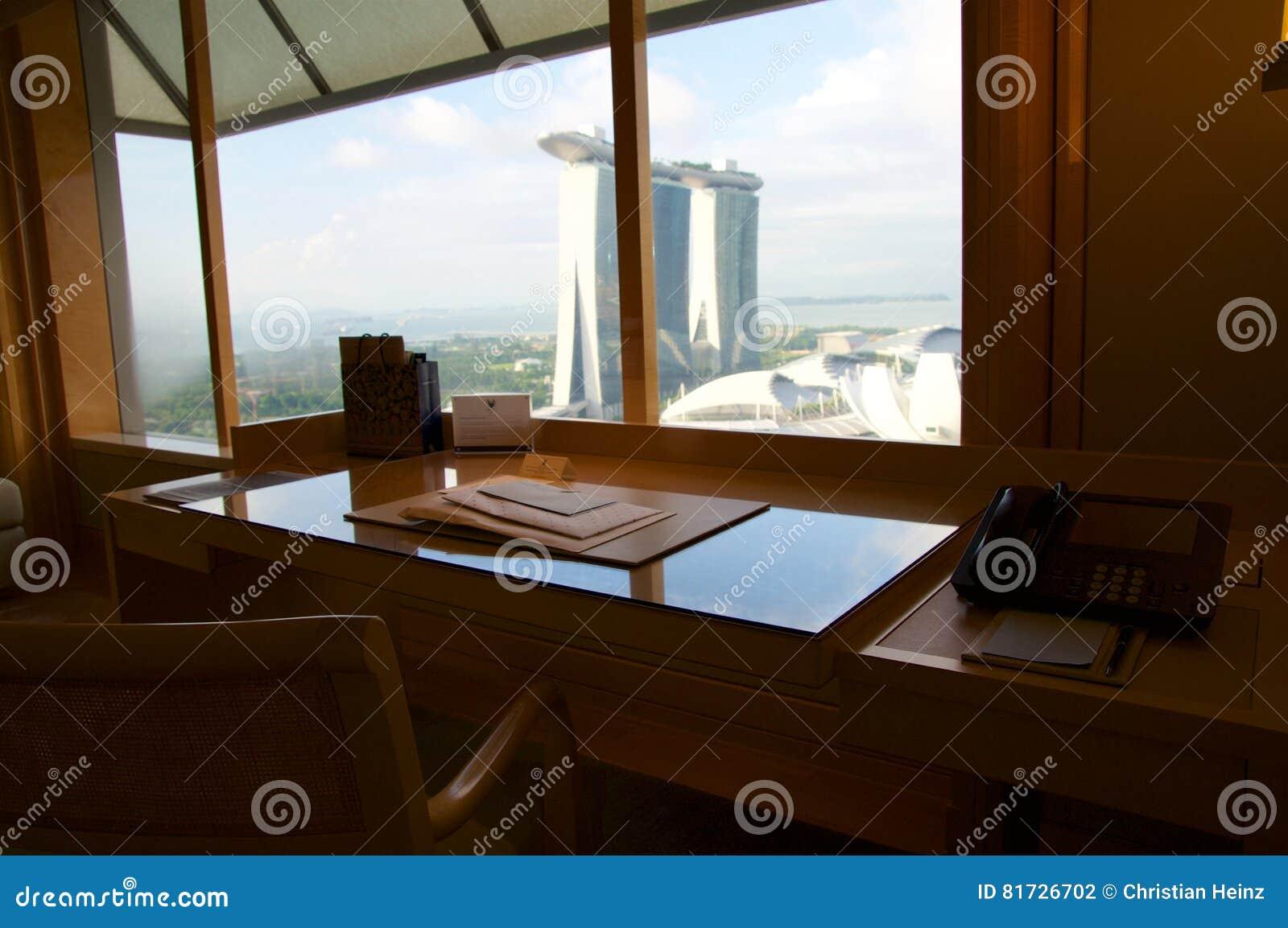 Singapour juillet chambre d hôtel de luxe avec
