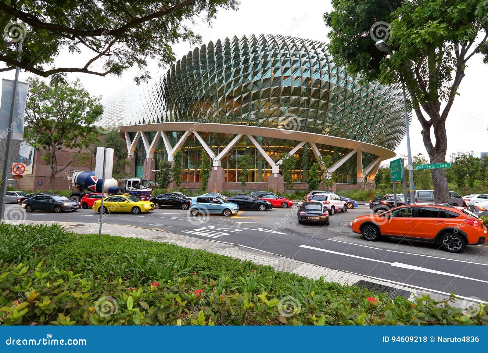 Singapour : Théâtres d esplanade sur la baie