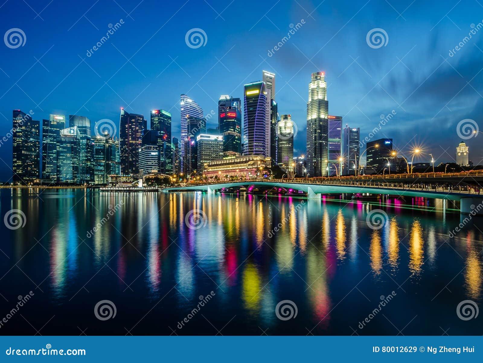 Singapur centrali dzielnica biznesu