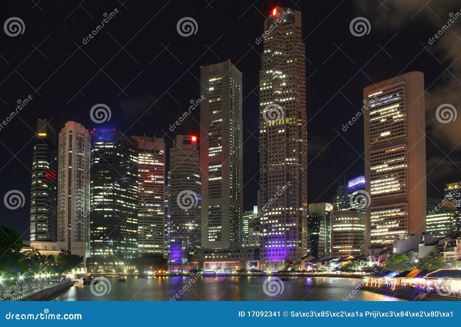 Singapur nachts