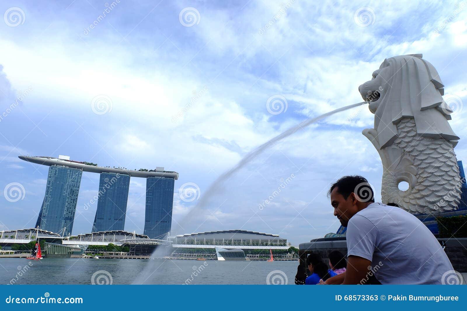 SINGAPUR - Styczeń 18, 2016: